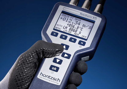 Picture of Handheld digital flow meter (excl. probe)