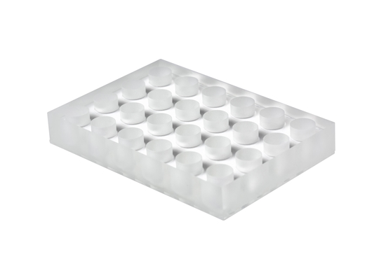 Picture of 24-well glass microplate