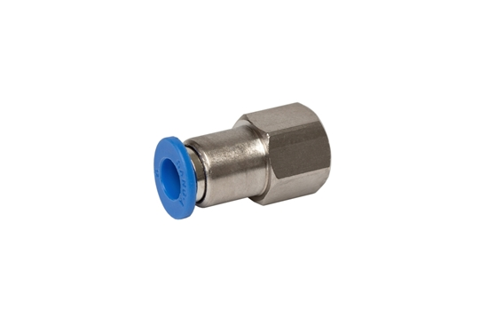 """Picture of Push-in fitting for 6 mm tube (1/8"""")"""
