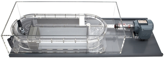 Picture of Very large swim tunnel respirometer