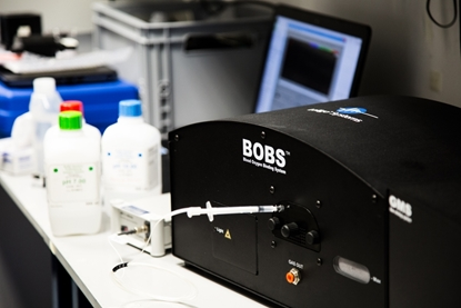 Picture of BOBS™ instrument  (Blood Oxygen Binding System)