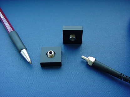 Picture of Fiber cable fixture for planar walls